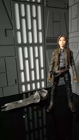 Star Wars Jyn Erso from Rouge One Black Series 6 inch Loose