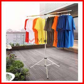 Stainless Steel Collapsible Portable Space Saving Tripod Clothes