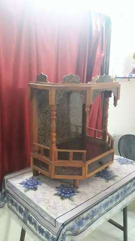 Wooden Temple for Sell in Rs. 250 Only.