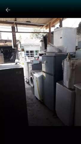 AC,Kulkas, Mesin Cuci bekas/ rusak