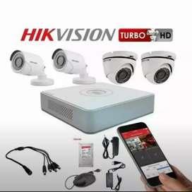 Camera CCTV murah outdoor indor 2mp seting online ke HP free pasanng/