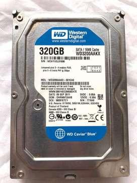 Hardisk WD Blue 320 GB