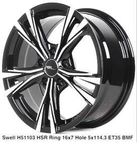 wheel SWELL 51103 HSR R16X7 H5X114,3 ET35 BMF
