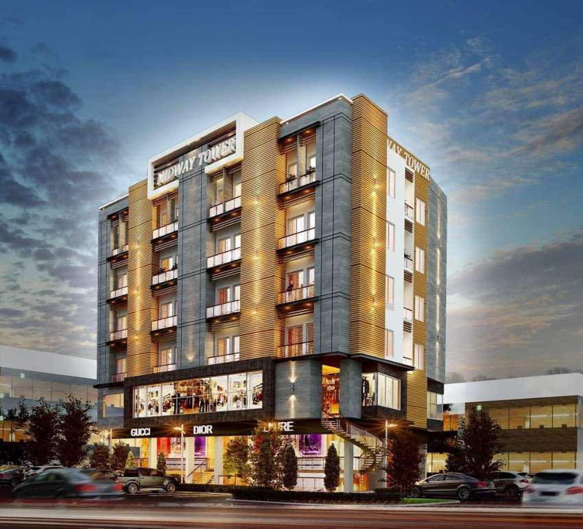 Shops for sale on Easy Installment in Ghouri town Midway Tower 0