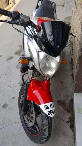 The famous Yamaha FZ bike.