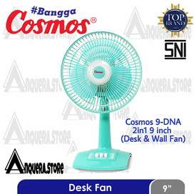Cosmos kipas angin Desk Fan 9 DNA Twino 2 in 1