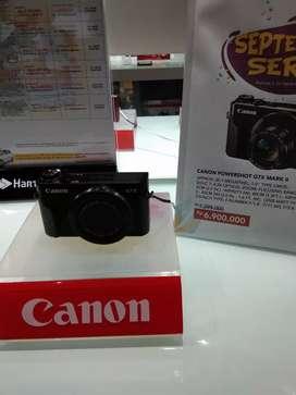 Ready stock Kamera Canon G7x cicil tanpa kartu kredit bisa banget yuk