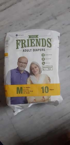 Adult diaper of size - M