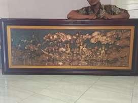 Lukisan relief kuno mandarin