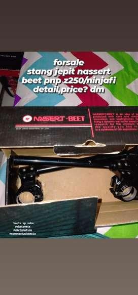 For sale stang jepit dan wind shield MRA original