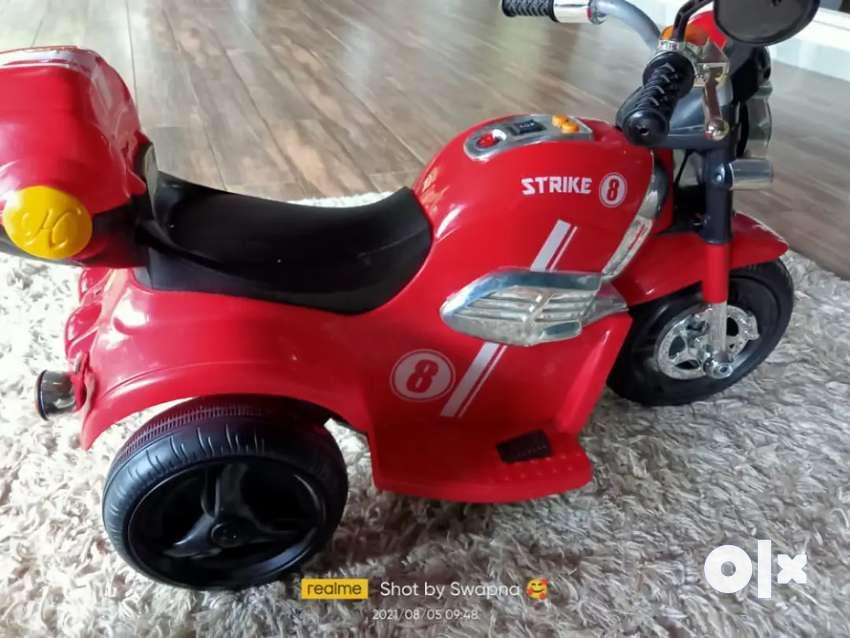 Toddlers battery bike