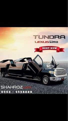 Limousine,Land Cruiser Available For Rent|Shahroz Limo