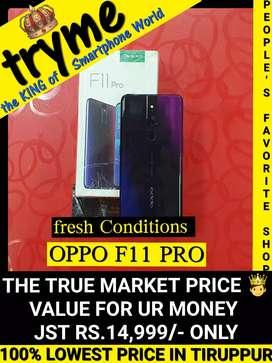 TRYME OPPO (F11 PR0) Full Kit Bill Box Fresh Conditions