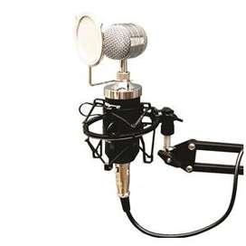 Paket LITE microfon Rekaman / Smule Mic Kondenser BM 8000 + Stand 234