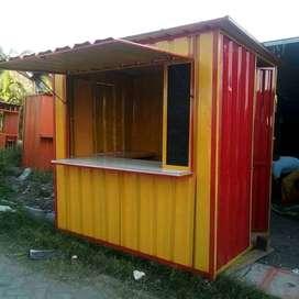 Rombong murah, Rombong booth, semi kontainer, replika kontainer