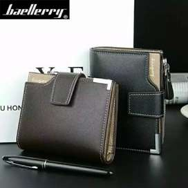 Dompet Baellerry 1282 model pendek warna Coklat
