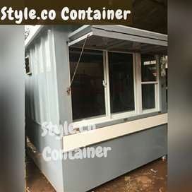 BOOTH CONTAINER CAFE KEDAI | CONTAINER CAFE ANGKRINGAN | CONTAINER