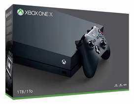 BRAND NEW UNUSED XBOX ONE X IN 25K LESS THAN RETAIL AMOUNT WITH BILL