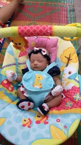 Ayunan elekrik baby elle
