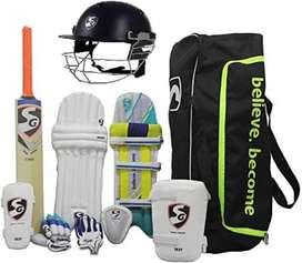 Cricket kit with bag (cricket academy of Bihar)