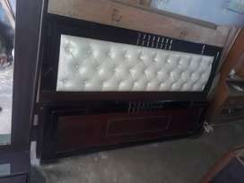 WELL FURNISHED NEW DOUBLE BED(6ft×6ft)