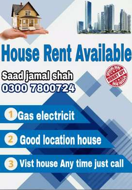 12 marla house rent in Dubai chowk Girls collage Road