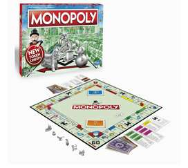 Monopoly Game Plus Ludo Games - (2 in One Ghosia Sports Offer)