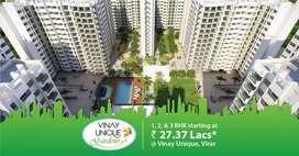2 BHK Flats - OC RECEIVED at ₹ 50 Lacs, Vinay Unique Garden-Virar West