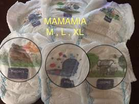 Popok Pampers diapers celana mamamia
