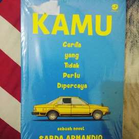 Novel Kamu Cerita yang Tidak Perlu Dipercaya - Sabda Armando