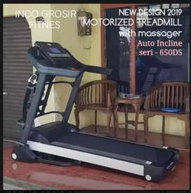 Alat fitnes treadmill elektrik Sports 650DS Berkwalitas Igf  19
