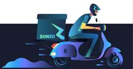 Join in dunzo as delivery partner earn up to 35000 per month