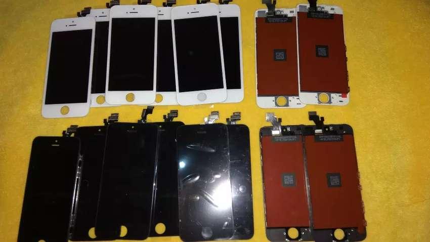 LCD IPHONE 6+ BERIKUT PEMASANGAN FREE ANTI GORES 0
