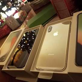 With Bill Box and all accessories iPhone X for sell