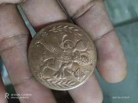 Old hanuman coin
