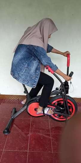 New Sepeda fitnes Platinum bike 2 fungsi Spesial home use