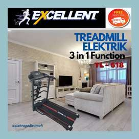 treadmill elektrik TL-618 G-40 alat olahraga lari