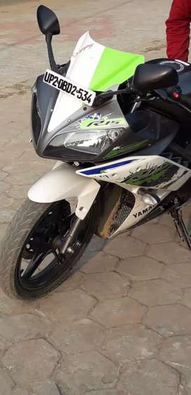 It's a sport bike with new condition