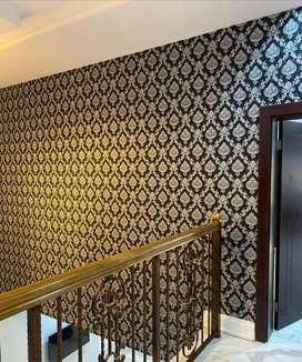 Wallpaper premium hiasan dinding elegant dan sejuk