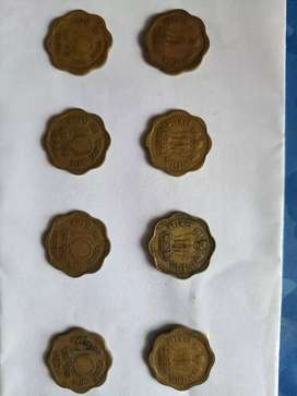 Rare 10 paise 50+years of old coins