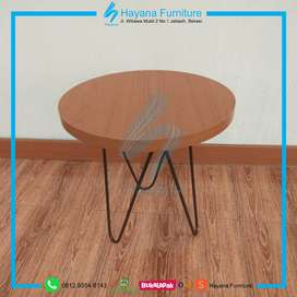 Meja Cafe / Coffee Table Laminated PVC Sheet (CT 1812)