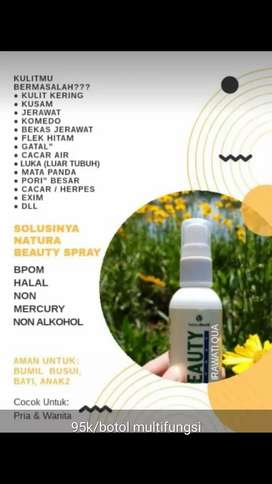Beauty spray natura world