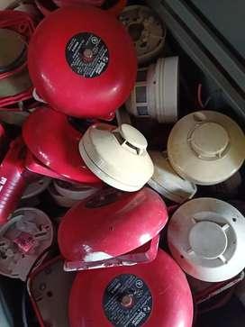 Smoke detector alarm Bell alarm