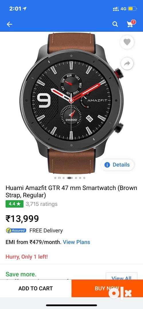 Huami Amazfit GTR 47mm Smart watch