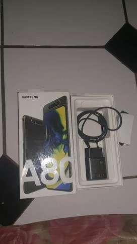 Samsung A80 Fulset mulus lengkap jual cepat.
