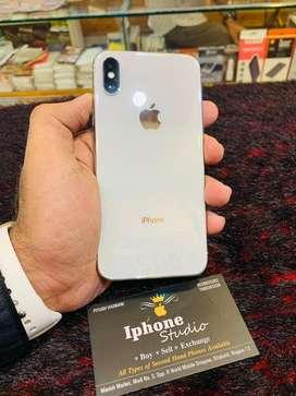 iphone-X-256gb silver top