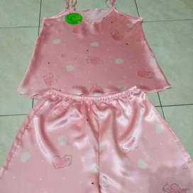 Diffa Cute Bear Sleepwear Set Pink