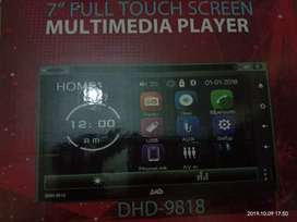 Nego Doubledin android DHD 9818 car Android 7 inch full touchscreen