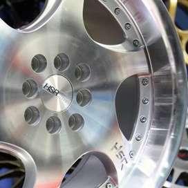 Harga velg - GANGNAM 6052 HSR Ring17 PCD.4X100-4X114,3