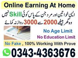 Jobs Opportunities Office Base Job Male /Female /Students Golden Jobs